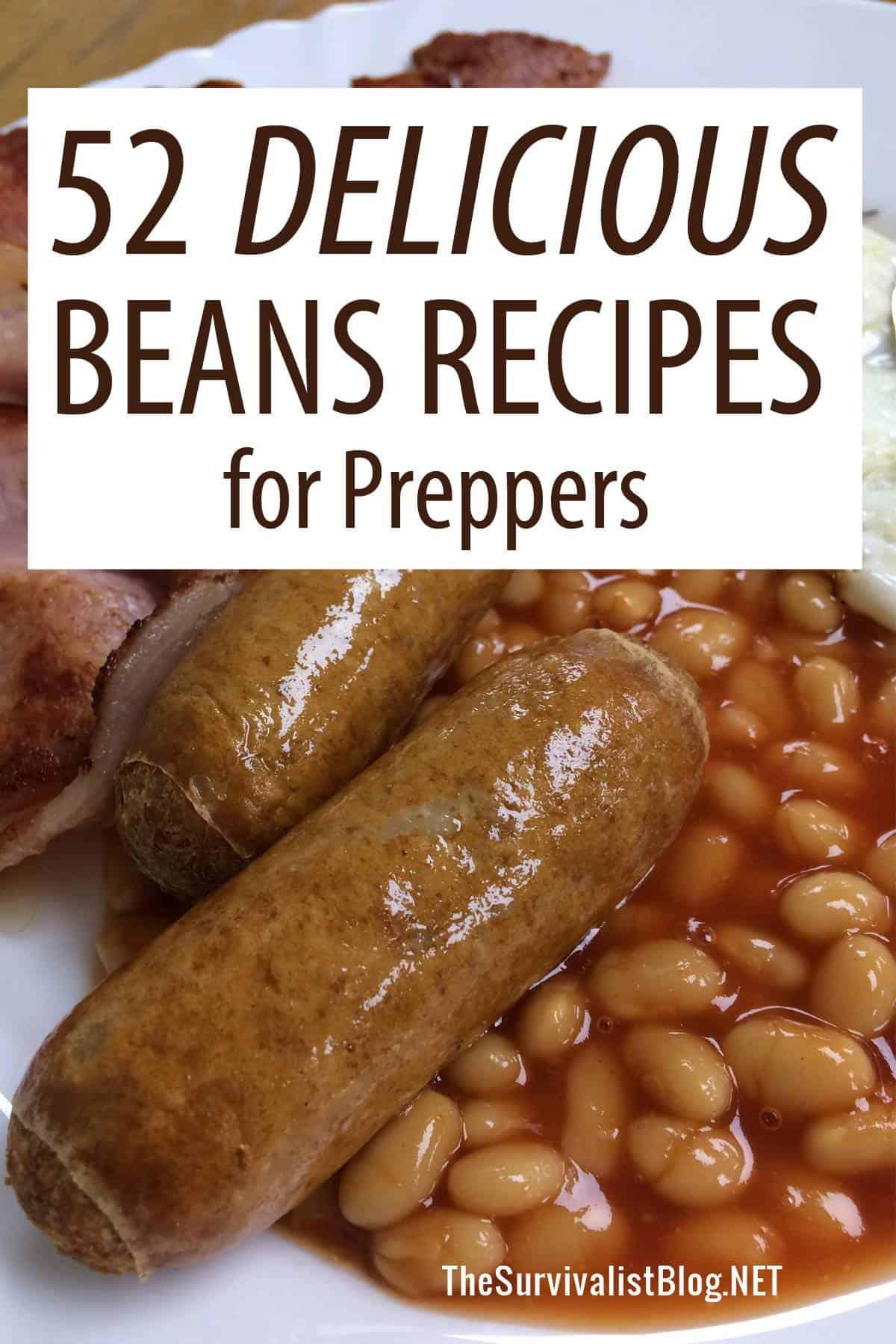 beans recipes Pinterest